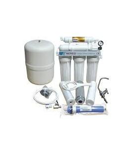 Nereo Equipo de Osmosis domestica 5 etapas (con BOMBA) + Kit de instalación