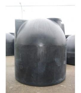 Depósito para agua de Polietileno HD CU 8.000 litros. Superficie y enterrar