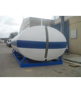 Depósito de agua - Cuba para transporte y riego de agua potable 12.000 Lts