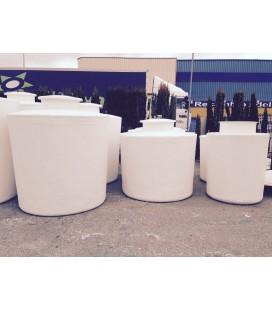 Depósito agua vertical fondo plano 4.000 litros
