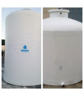 Depósito para agua vertical fondo plano 45.000 litros
