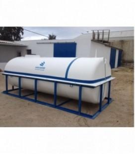 Depósito de agua potable. Cuba para transporte y riego de agua 4000 lts