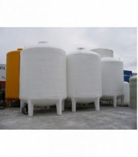 Depósito para agua potable vertical con patas 40.000 litros