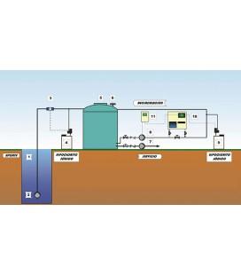 Sistema completo de cloración para agua en depósito (consúltenos instalación)