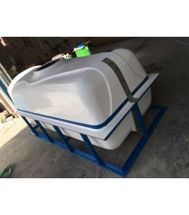 Depósito agua - Cuba para transporte y riego de agua potable 3000 lts