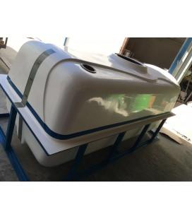 Depósito de agua - Cuba para transporte y riego de agua potable 2000 lts