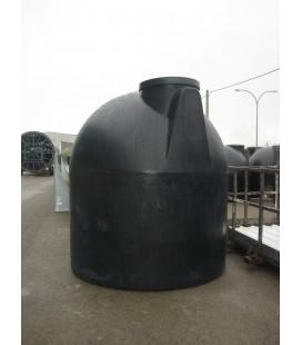 Depósito para agua de Polietileno HD CU 1.500 litros. Superficie y enterrar