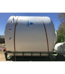 Depósito agua vertical con fondo plano 35.000 litros