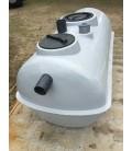 Fosa septica con Filtro biológico 1.700Lts - 3 camaras. Fabricada en PRFV.