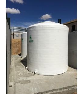 Depósitos para agua potable vertical fondo plano 10.000 litros