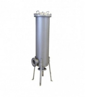 Filtro industrial agua multicartucho inox. 3x40